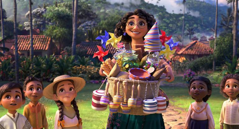 Cena da animação Encanto da Disney