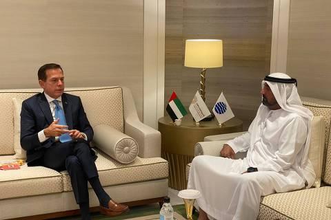 Disputa entre Bolsonaro e Doria vai parar em Dubai e na COP26