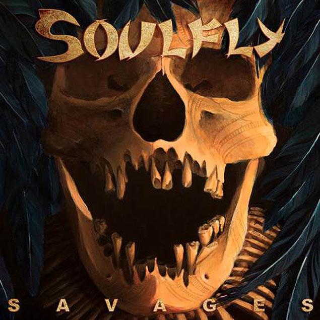 Capa do disco novo do Soulfly,