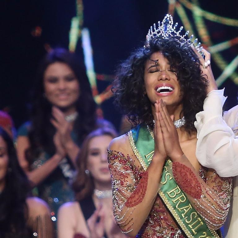 Paranaense RaissaSantana é coroadanova Miss Brasil