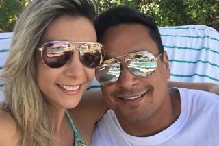 Carla Perez e Xanddy comemoram 15 anos de casados em 2016