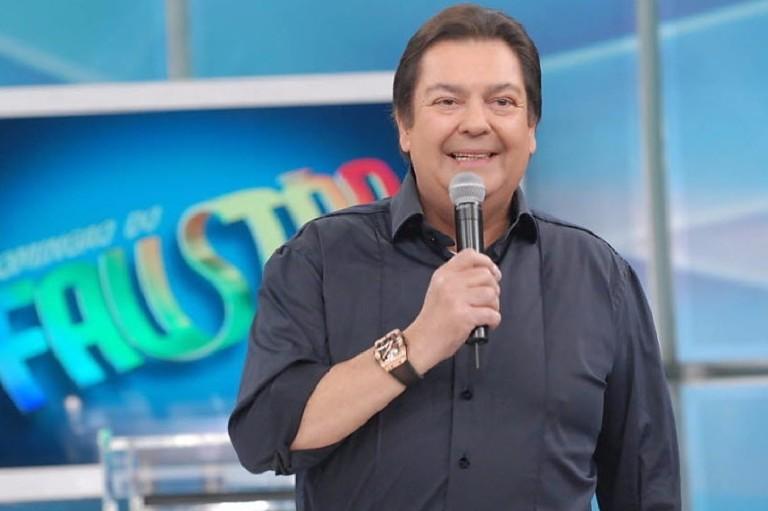 O apresentador Faustão