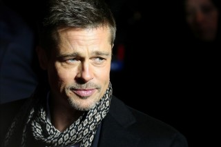 File photo of actor Brad Pitt arriving at the premiere of the film