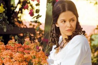 A atriz Bianca Rinaldi em cena da novela 'Escrava Isaura', da TV Record