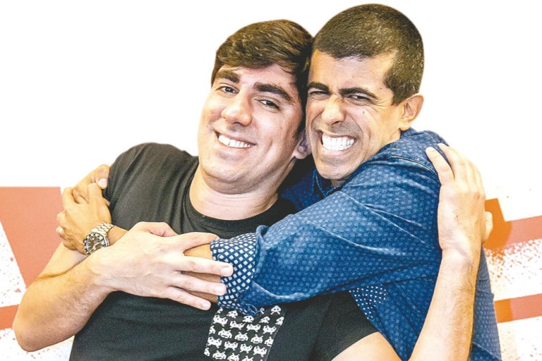 Novo humorístico de Marcius Melhem e Marcelo Adnet vai se chamar Fora de Hora