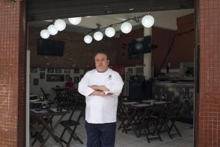 O chef Erick Jacquin em gravação do programa 'Pesadelo Na Cozinha' (Band)