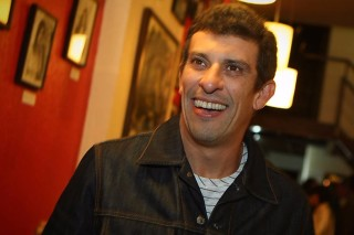 O ator Milhem Cortaz
