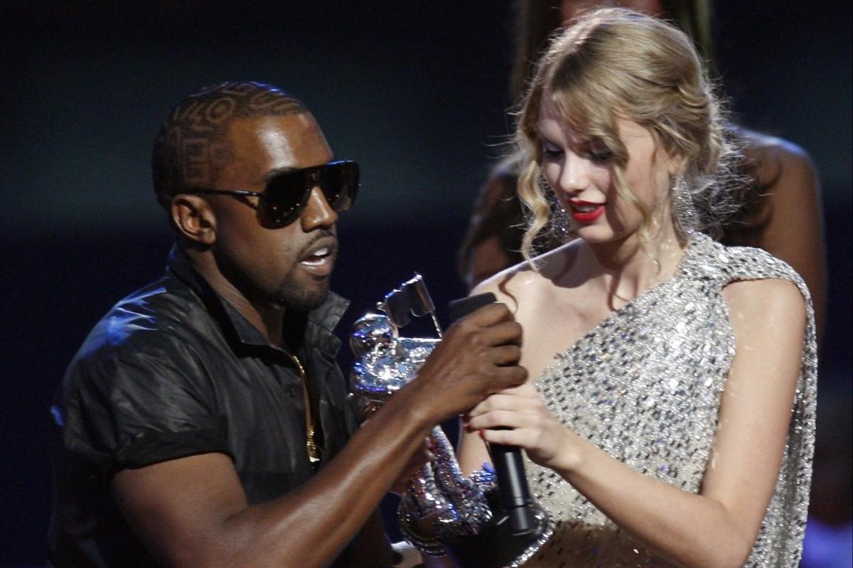 Há dez anos, briga de Kanye West e Taylor Swift abalava mundo pop -  13/09/2019 - Ilustrada - Folha