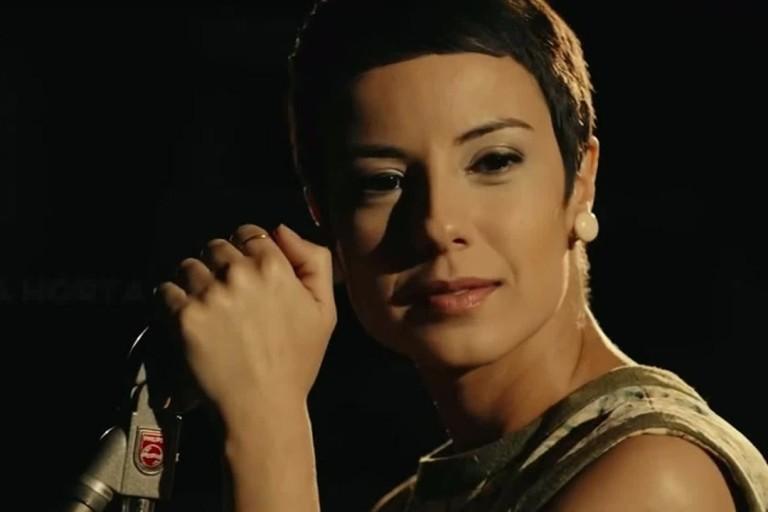 Andreia Horta no filme 'Elis'