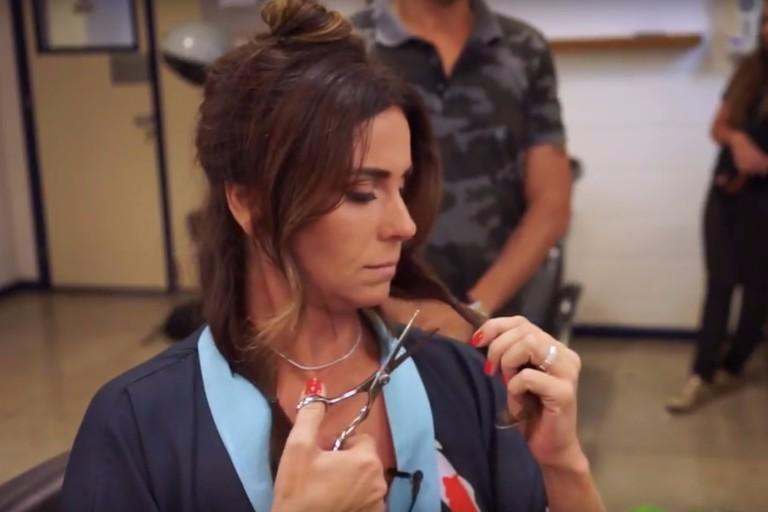 GiovannaAntonelli aproveita mudança no visual de personagem para doar o cabelo