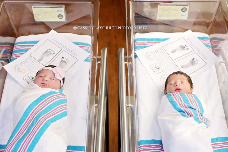 Romeoe Julietnascem com poucas horas de diferença na mesma maternidade