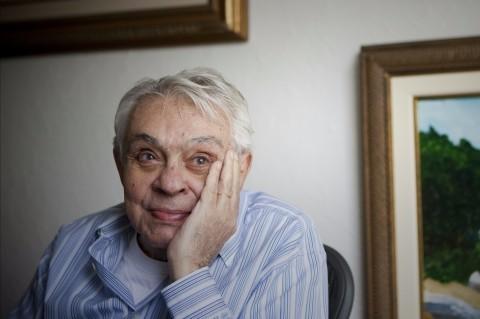Retrato do humorista Chico Anysio em sua residência, em São Paulo *** ****