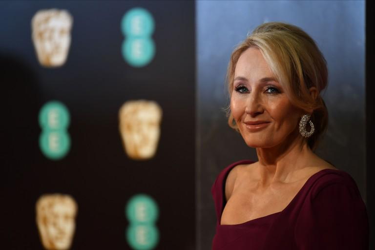 J. K. Rowling no prêmio Bafta 2017