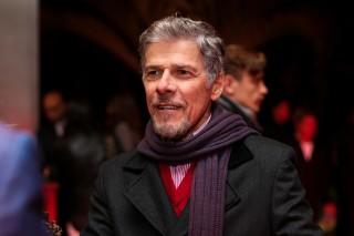 José Mayer no Prêmio Reverência de Teatro Musical em São Paulo