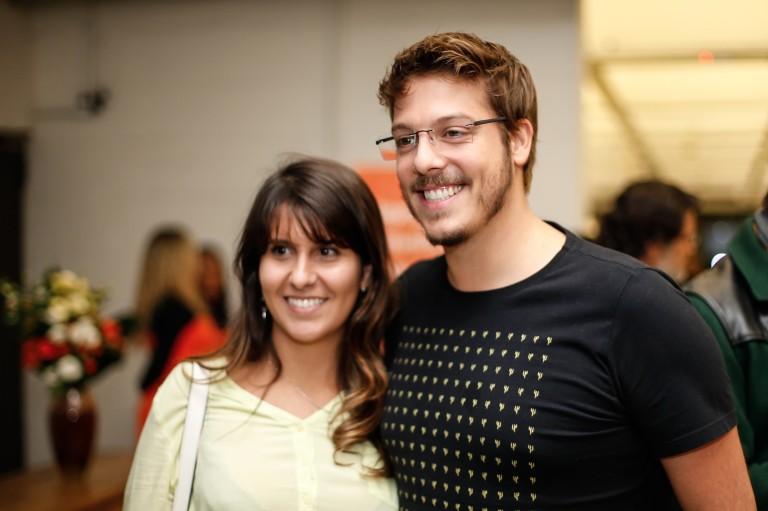 Fábio Porchat e Nataly Mega