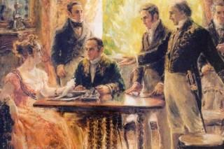 Maria Leopoldina se casou com Dom Pedro 1º, por procuração, em 13 de maio de 1817