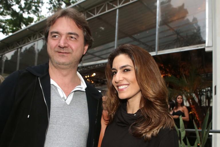 Joesley Batista e Ticiana Villas Boas em evento em São Paulo em 2015