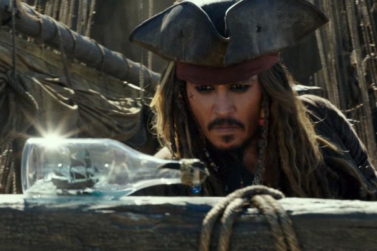 """Johnny Depp interpreta novamente o capitão Jack Sparrow em """"Piratas do Caribe - A Vingança de Salazar"""""""