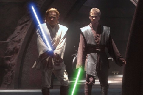 Legenda: ORG XMIT: 250801_1.tif Cinema: os atores Ewan McGregor e Hayden Christensen em cena do filme