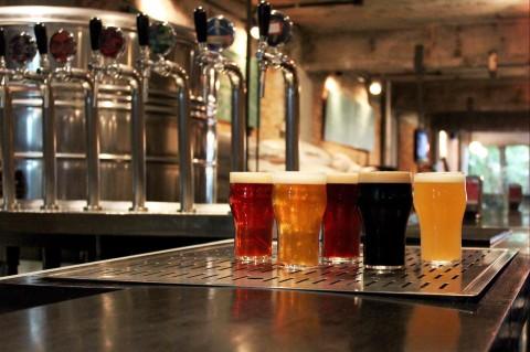 Chopes da Cervejaria Nacional, em Pinheiros *** ****