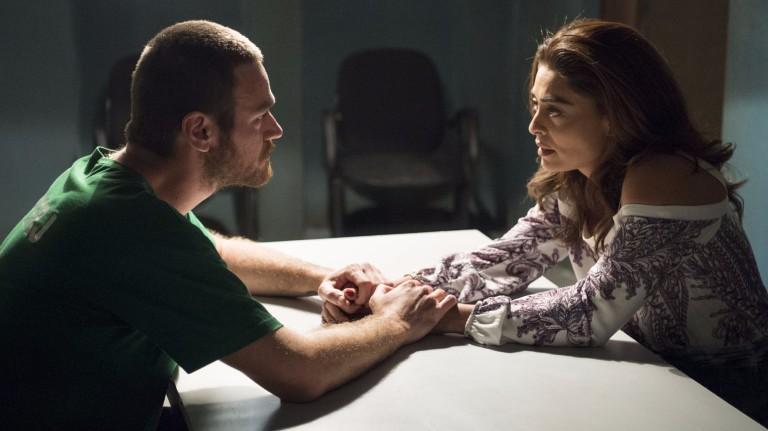 """Rubinho (Emilio Dantas) e Bibi (Juliana Paes) em """"A Força do Querer"""""""