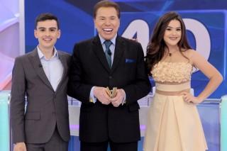Dudu Camargo, Silvio Santos e Maisa