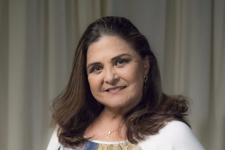 Elizângela estreia em 'A Dona do Pedaço' e diz que teve momentos difíceis no último trabalho