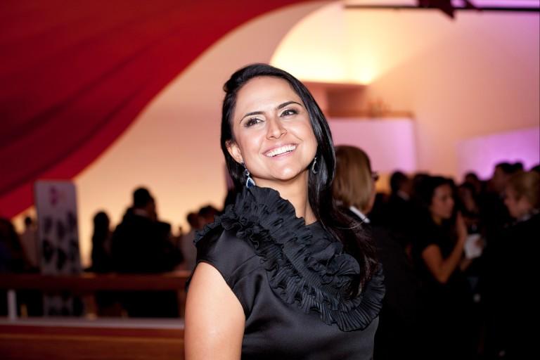A jornalista Carla Cecato