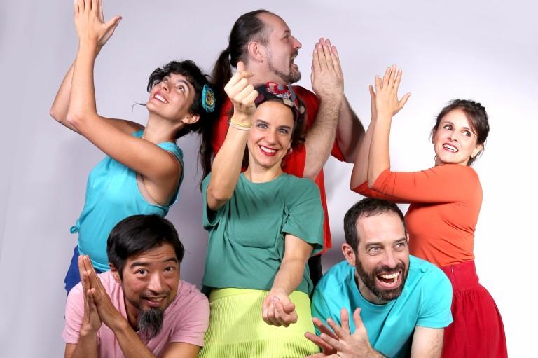 O grupo musical Barbatuques