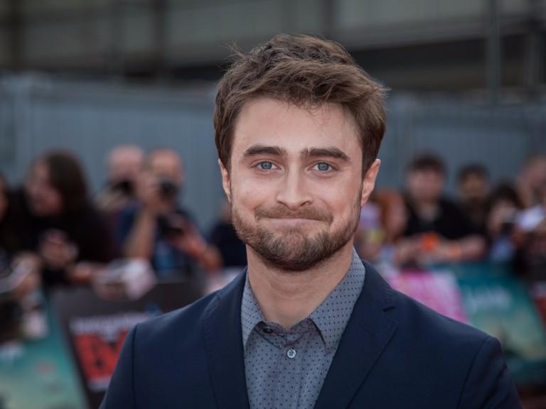 O ator britânico Daniel Radcliffe durante evento em Londres