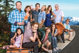 O elenco da série 'Modern Family'
