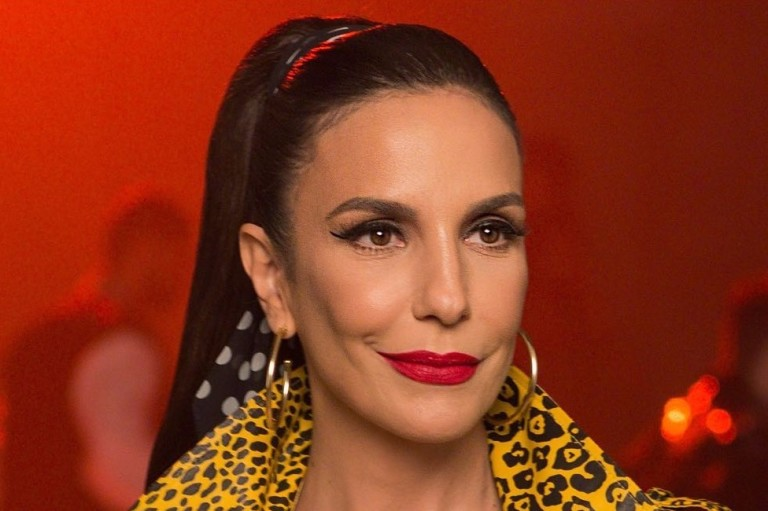A cantora Ivete Sangalo