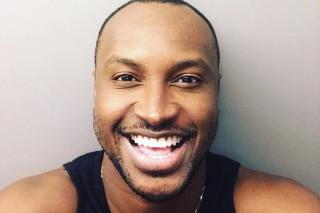 O cantor Thiaguinho em foto do Instagram em 2017