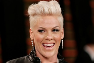 FILE PHOTO: Pink arrives at the 2014 Vanity Fair Oscars Party in West Hollywood