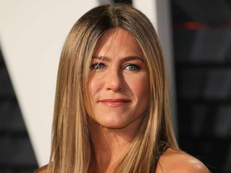 A atriz Jennifer Aniston � conhecida pela personagem Rachel Green, da s�rie 'Friends' (1994-2004)