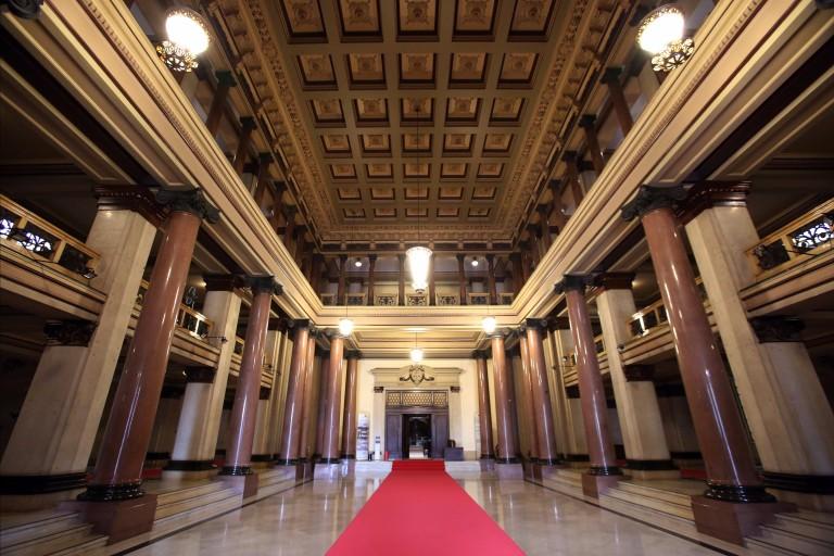 Interior da sede do Tribunal da Justiça de São Paulo