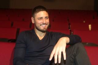 Pré-estreia de Frames, espetáculo com Daniel Rocha e Hugo Bonemer.