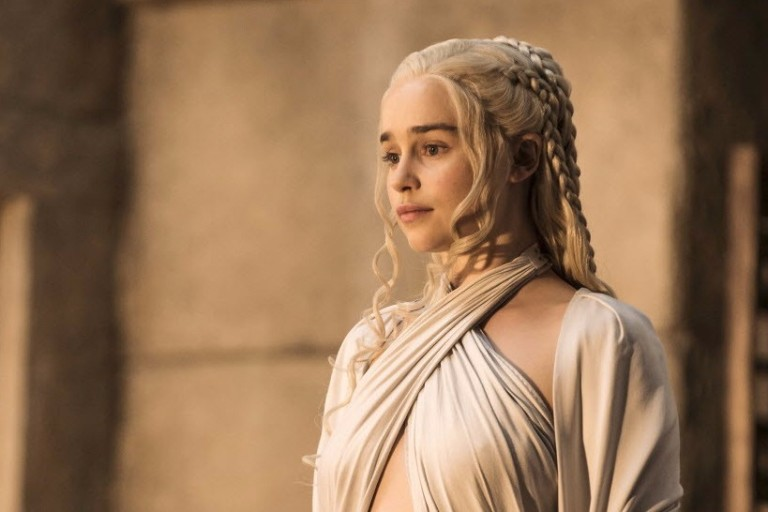 Daenerys Targaryen (Emilia Clarke) em 'Game Of Thrones'