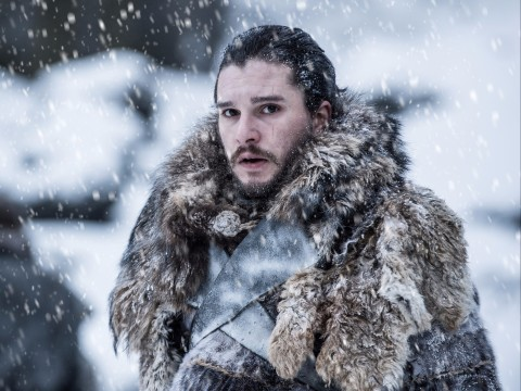 """In this photo provided by HBO, Kit Harington portrays Jon Snow in a scene from the seventh season of HBO's """"Game of Thrones."""" Piracy is a long-running and even routine issue for Hollywood, whether it's street vendors hawking bootleg DVDs on street corners or video uploaded to file-sharing sites like Pirate Bay. Now cybercriminals are also putting embarrassing chatter and other company secrets at risk. Separately from HBO's recent run-ins with hackers, upcoming """"Game of Thrones"""" episodes have leaked several times, and it is TV's most pirated show. (Helen Sloan/Courtesy of HBO via AP) ORG XMIT: NYBZ557"""