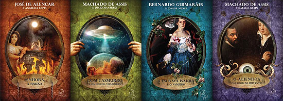 Clássicos da literatura ganham adaptações divertidas e recheadas com seres sobrenaturais