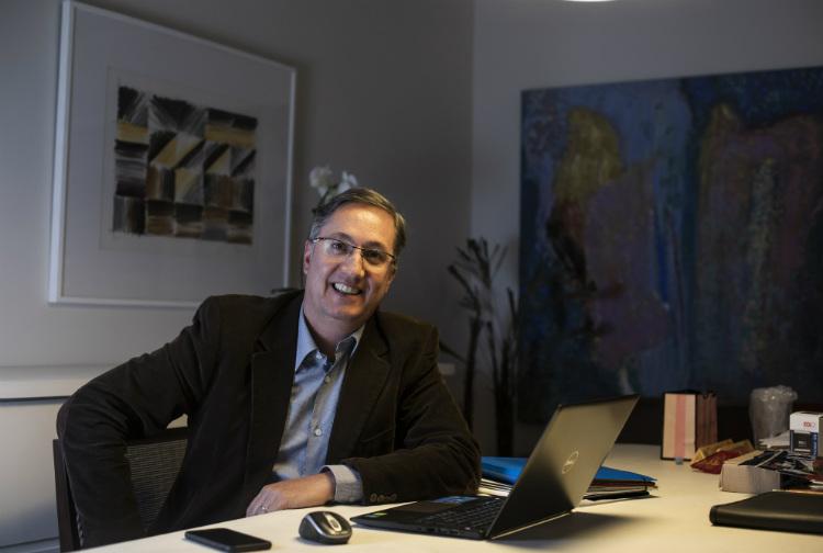 O engenheiro Mauro Cervellini, 48, em São Paulo