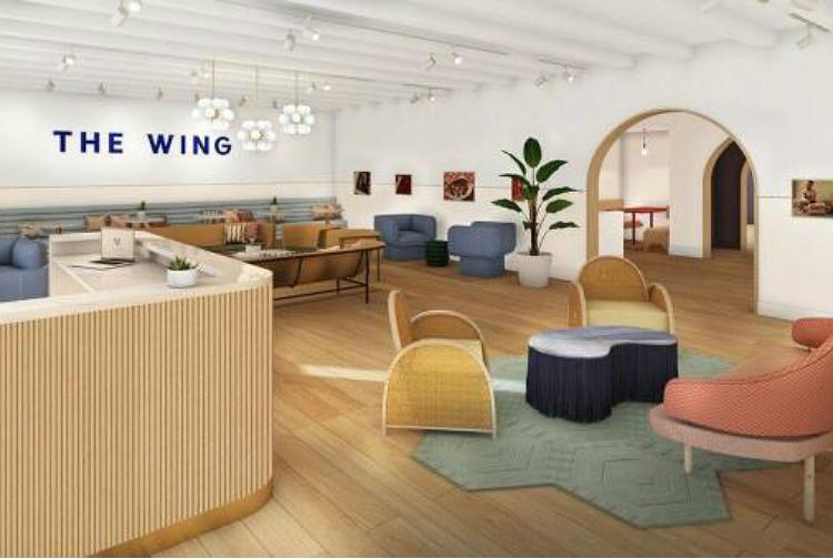 O coworking The Wing, só para mulheres, tem escritórios em Nova York, Washington e em breve em São Francisco